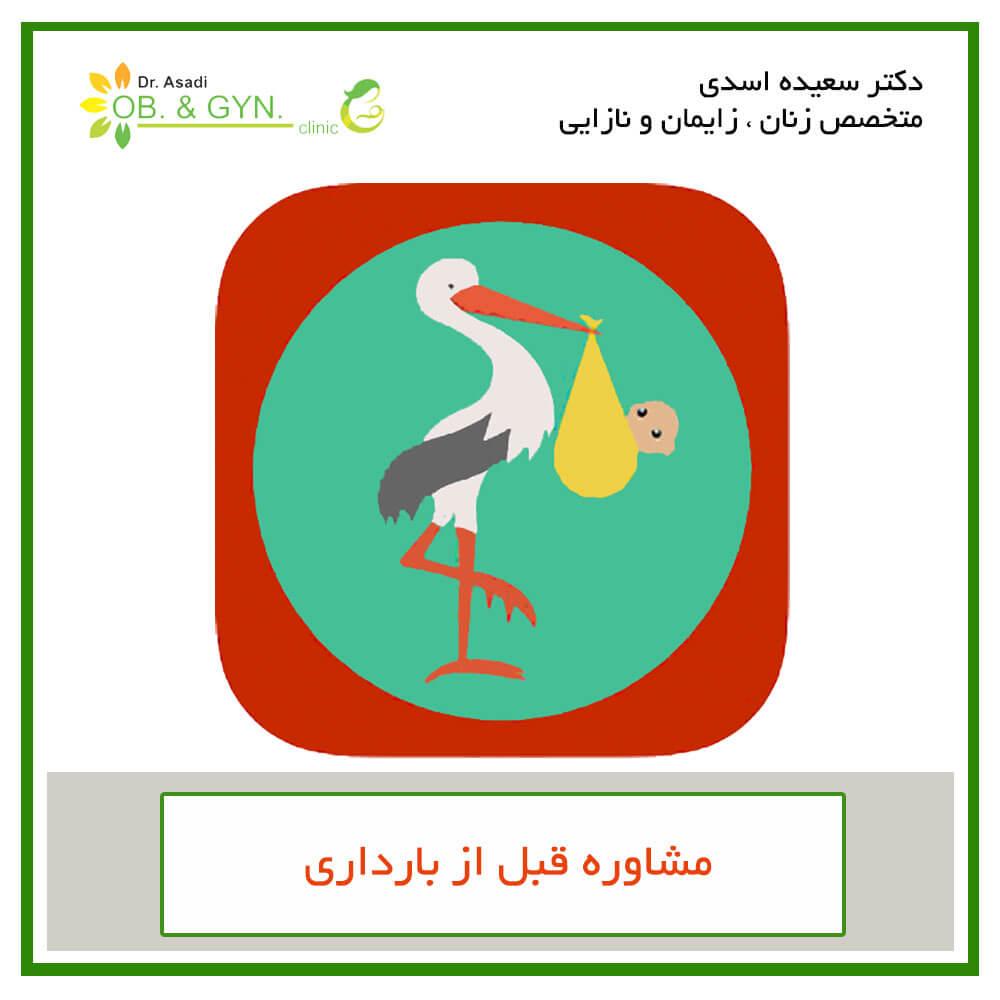 مشاوره قبل از بارداری | دکتر سعیده اسدی٬ متخصص زنان٬ زایمان و نازایی