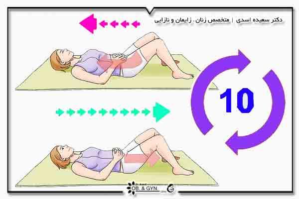 نحوه انجام ورزش کگل   دکتر سعیده اسدی٬ متخصص زنان