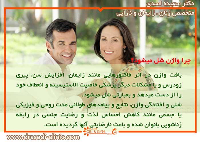 چرا واژن شل میشود؟ | دکتر سعیده اسدی٬ متخصص زنان در شرق تهران