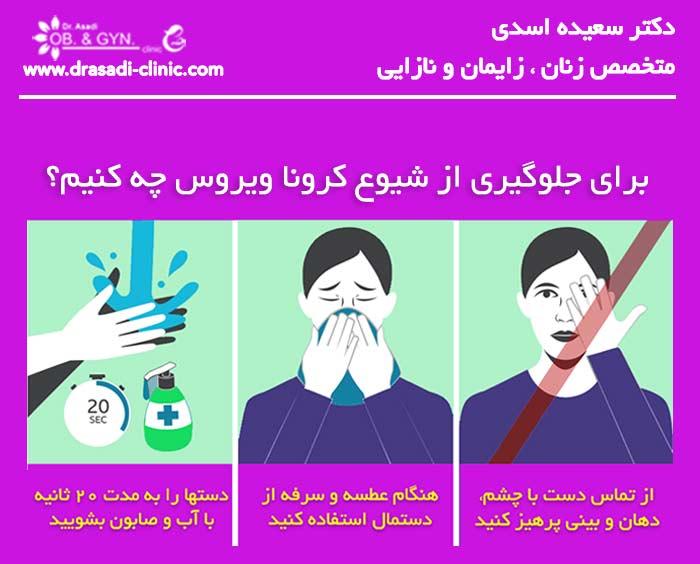 کرونا ویروس و رابطه جنسی | دکتر سعیده اسدی٬ متخصص زنان در شرق تهران